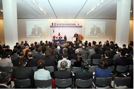 Discussions « franco-japonaises »